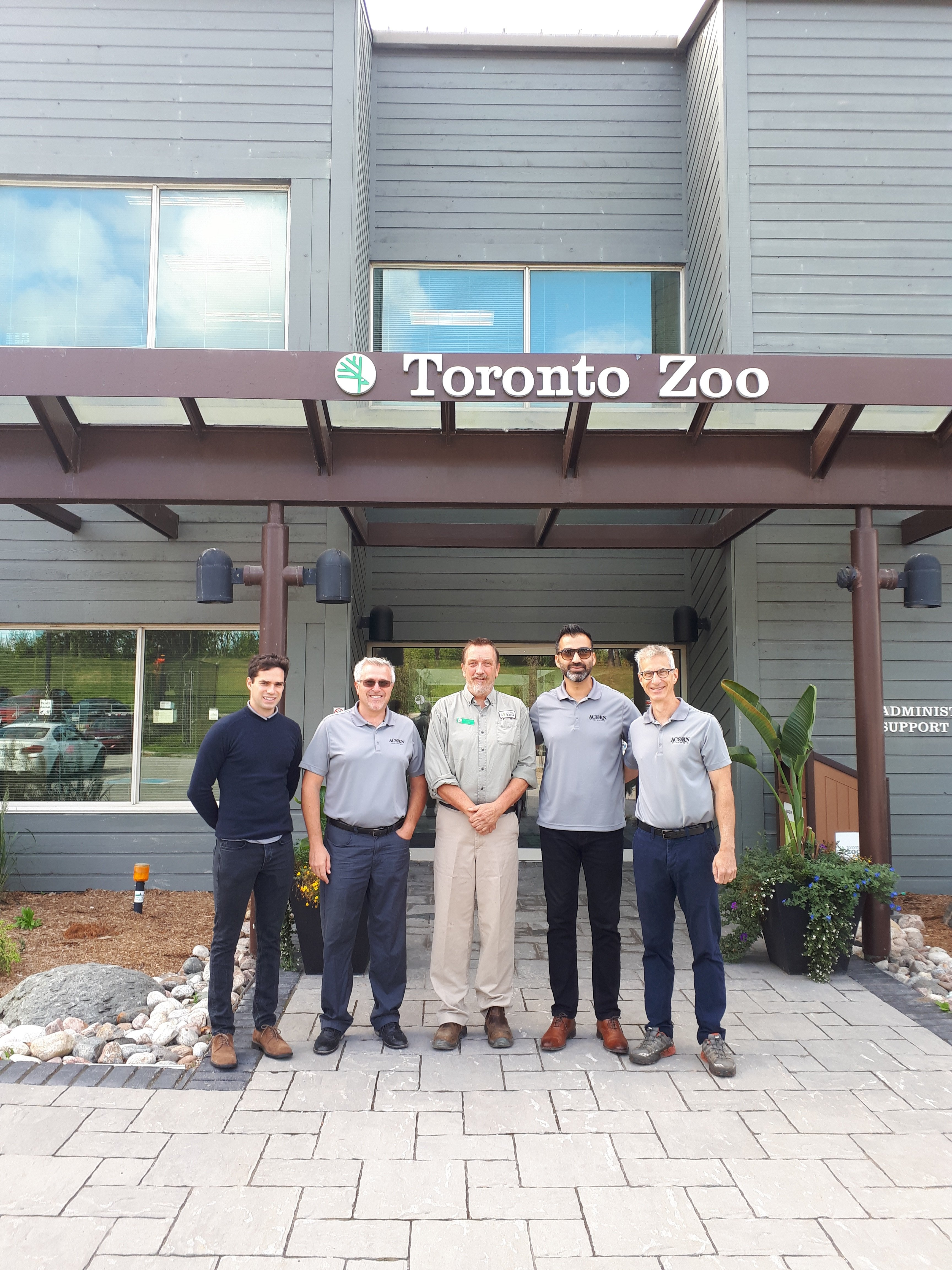 Acorn Team gets a private tour at the Toronto Zoo